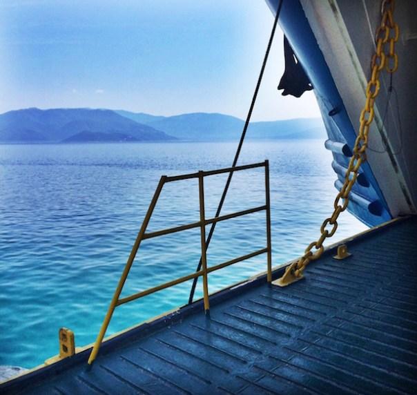 Ferry in Kefalonia