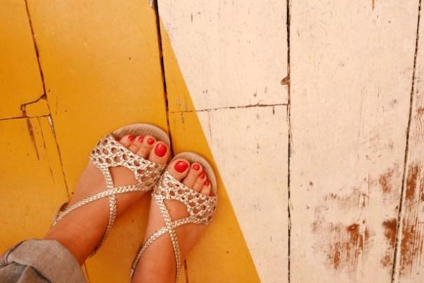 Yep, I'm still rocking my Office sandals from last year...