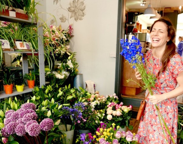 Buying flowers is hysterical