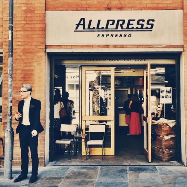 AllPress Coffee, Shoreditch