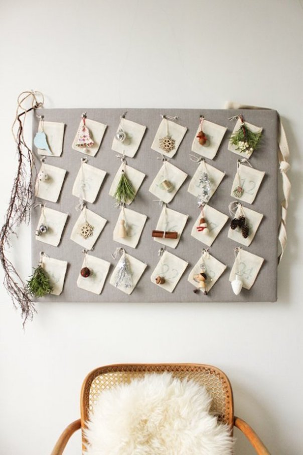 Found on http://www.themarionhousebook.com/blog/diy-advent-calendar?rq=advent
