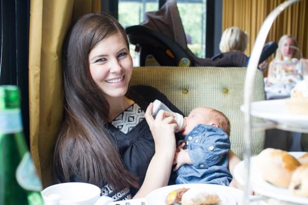 Lauren Bryan Knight at the Baglioni Hotel