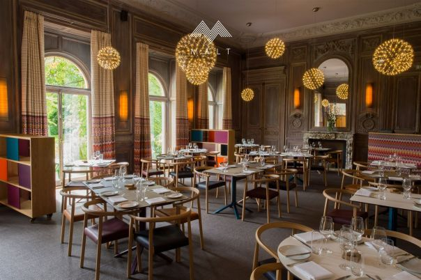 The Malt Restaurant at Cowley Manor