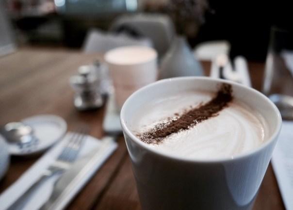 Liquorice latte at Snaps & Rye