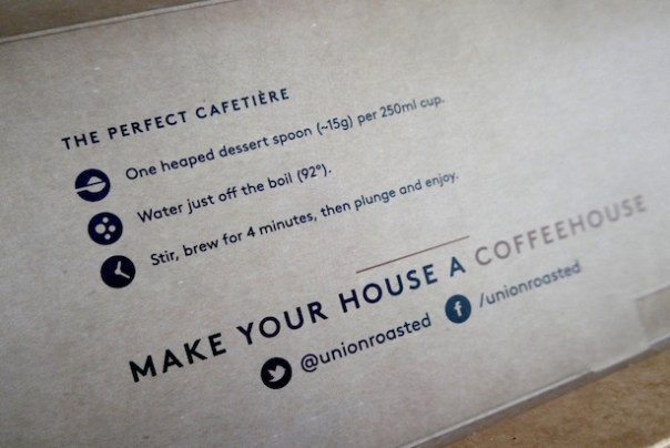 Union Roasted Coffee Club