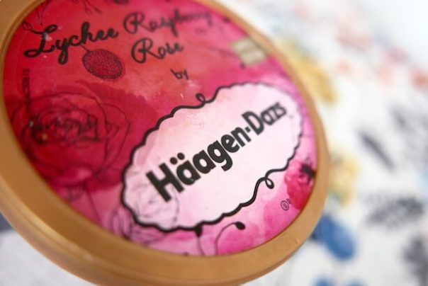 Lychee Raspberry & Rose Haagen Dazs for Liberty