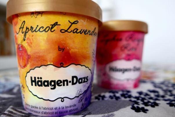 Apricot Lavender Haagen Dazs for Liberty