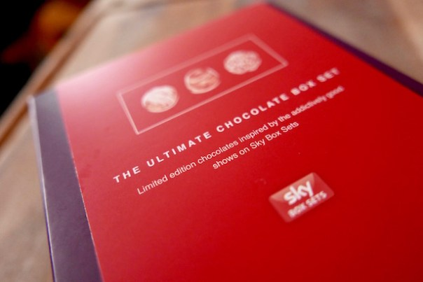 Paul A Young Chocolates Sky Box Set