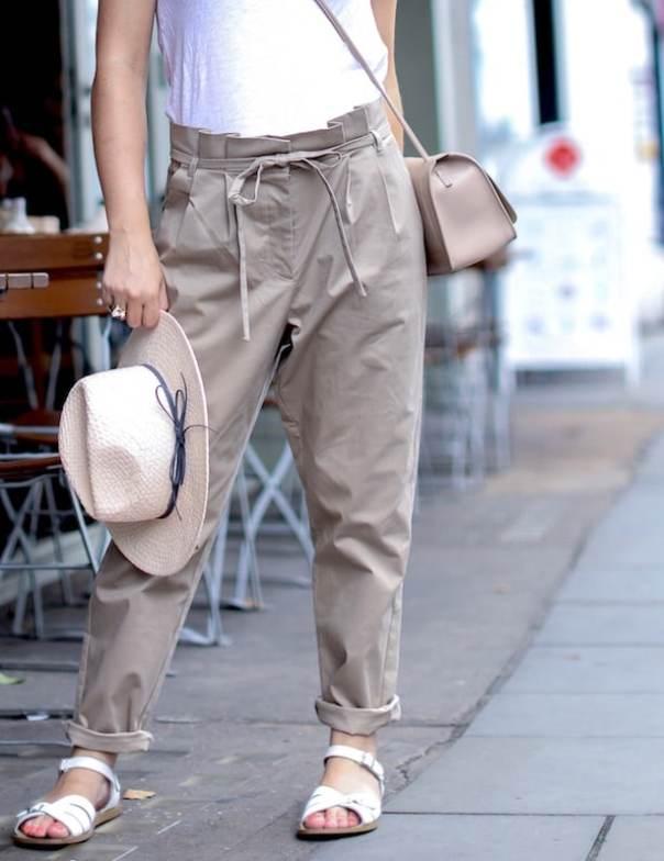 Oliver Bonas Artist Pleat Trousers