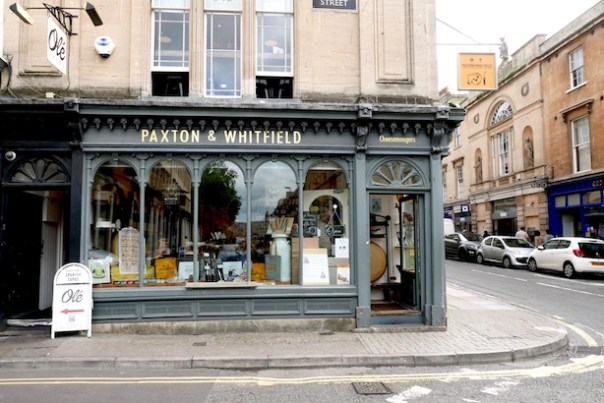 Paxton & Whitfield, Bath