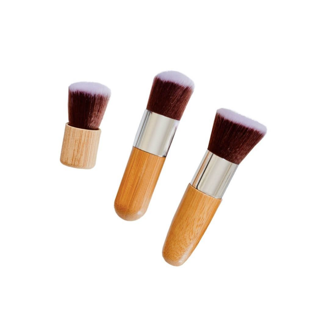 Poppy Sloane Bamboo Luxury Kabuki Trio Brush Set