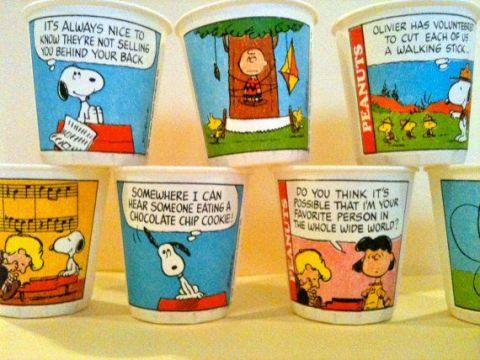 peanuts-dixie-cups