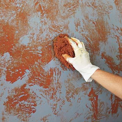 sponge-paint