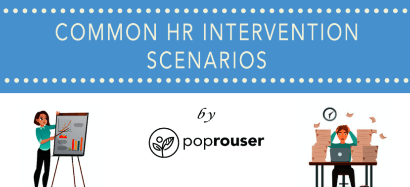 hr intervention scenarios