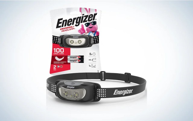 headlamp outside of packaging