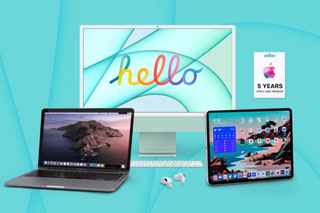 Apple product photo