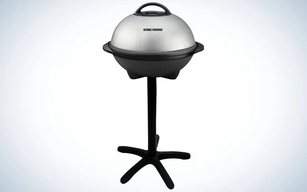 The George Foreman Electric Grill is the best Father's Day gift for indoor grilling.