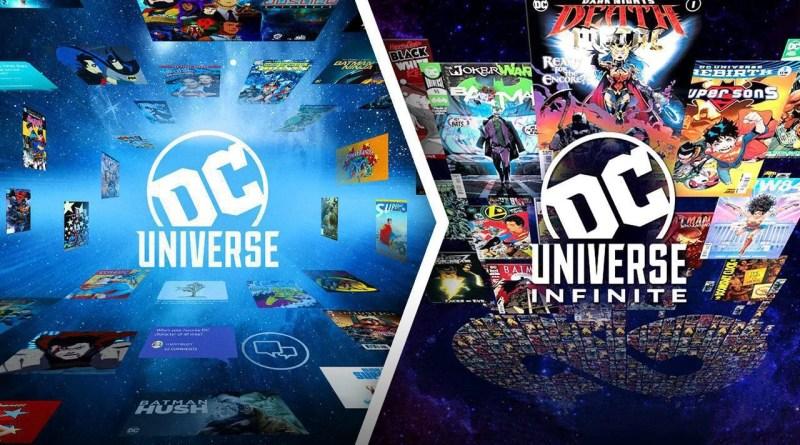 Em 2021 DC Universe se tornará  DC Universe Infinite!