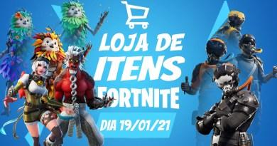 Fortnite – Loja de itens do dia 19/01/21