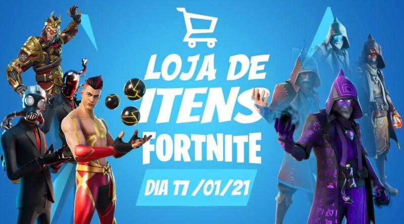 Fortnite – Loja de itens do dia 17/01/21
