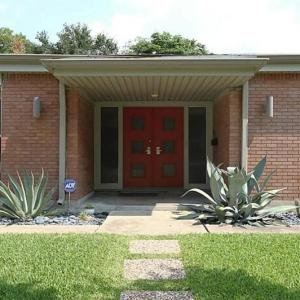 Atomic House Porch | Mid Century Homes | Westbury Houston