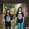 Creepy Girls Holding Hands | Abandoned House | Fashion Photography