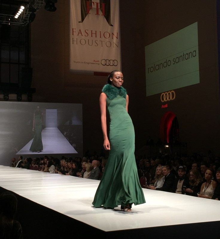 Rolando Santana Fashion Designer at Fashion Houston 2014 | Fashion Events in Houston | 2014 Rolando Santana Dresses