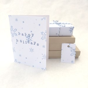 Free Snowflake Printable   Free Printable that Can be Made into Holiday Gift Tags, Wrapping Paper, and Greeting Cards   Homemade Christmas Gifts from the Pop Shop America Blog