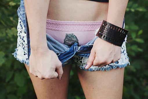 Clothing by Pop Shop America Kitten Underwear Online Shopping