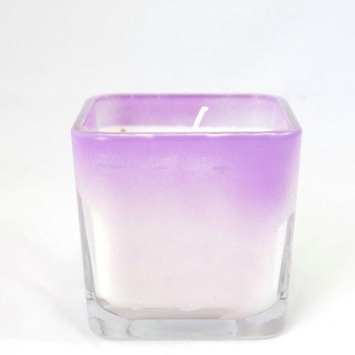 Ombre Candle Lemon Lavender Candle Pop Shop America