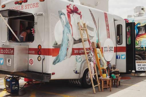 Mobile Boutiques at Pop Shop Houston Festival
