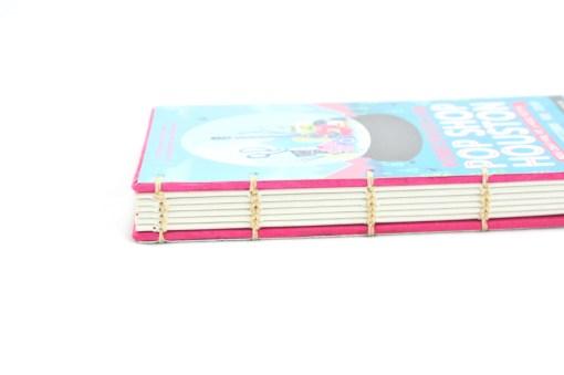 Hardcover Notebooks – Pop Shop Houston binding detail