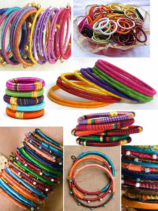 embroidery thread wrapped bracelets pop shop america