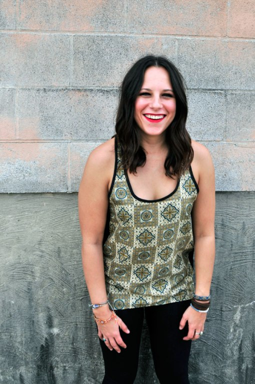featured green paisley rickshaw tank