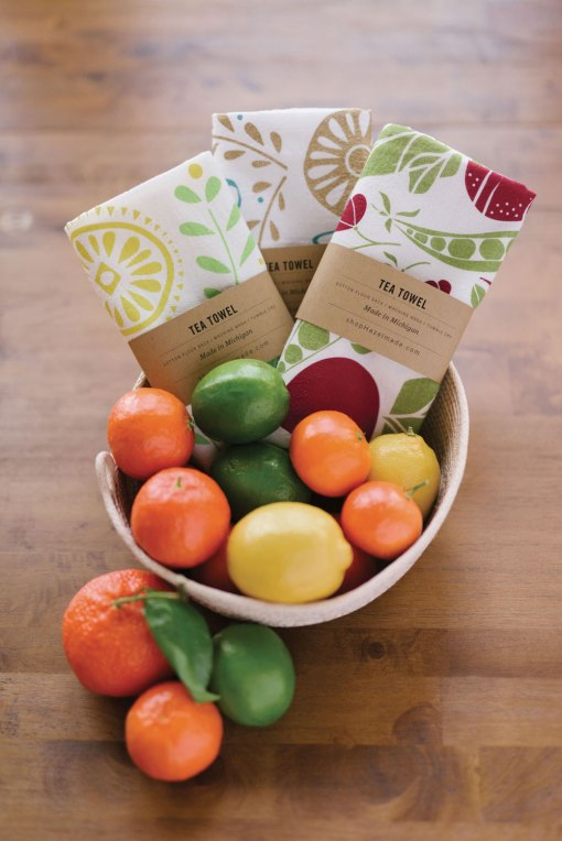 Cute Tea Towels with Fruit Pop Shop America