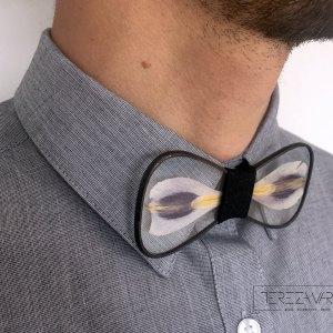 glass tie by tereza varga handmade menswear
