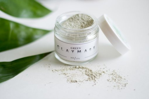 green-clay-mask-handmade-skincare-by-lovely