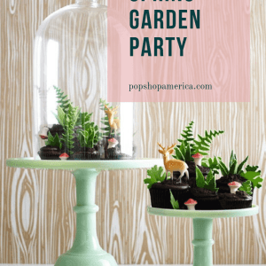 spring garden party style inspiration