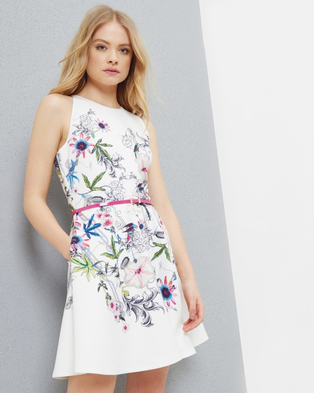 ted baker flower dress - summer fashion flower dress collection pop shop america