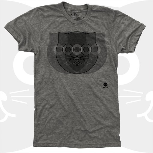 cat t-shirt men's clothing by medium control