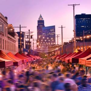 cleveland night market outdoor festival