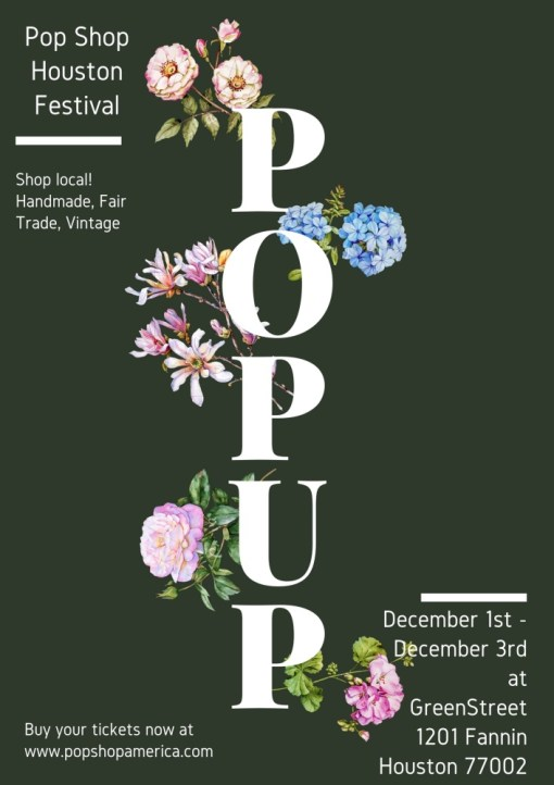 Pop Shop Houston 2017 Holiday Festival GreenStreet_web