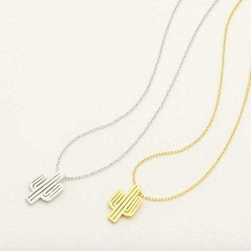 cactus-necklace-plant-jewelry pop shop america jewelry shop