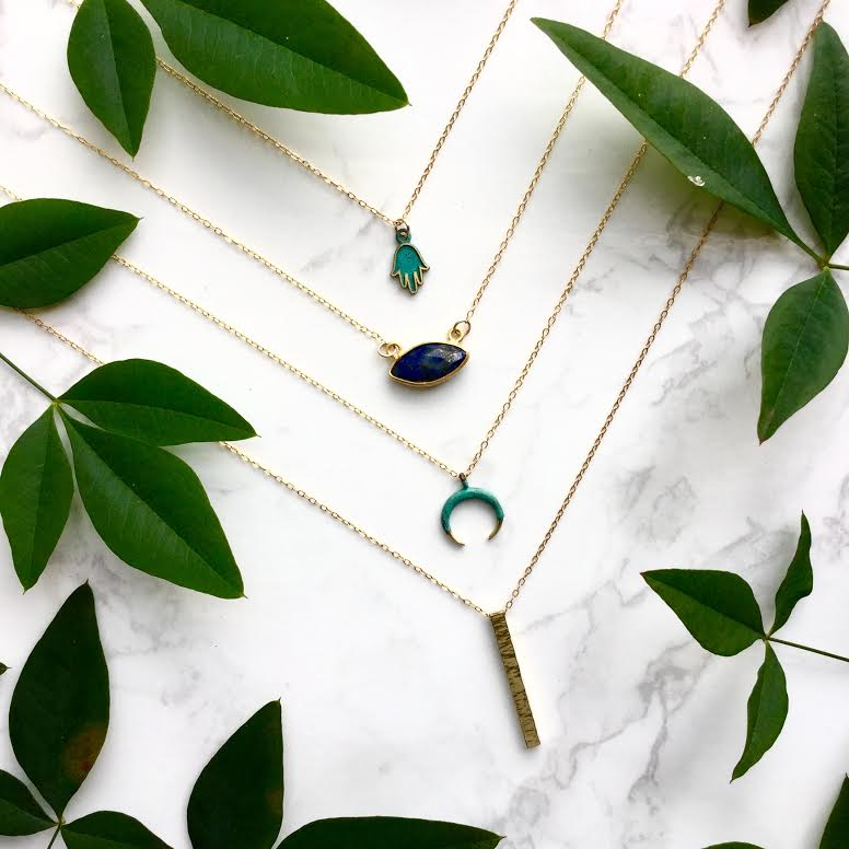 necklaces by neo bohemian jewelry co houston modern artifacts