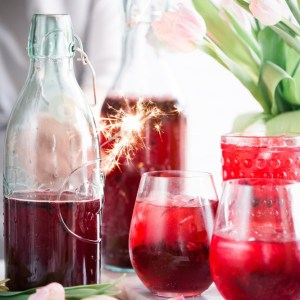 pomegranate simple syrup recipe by pop shop america