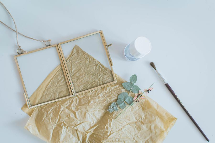 DIY Pressed Flower Frame Materials