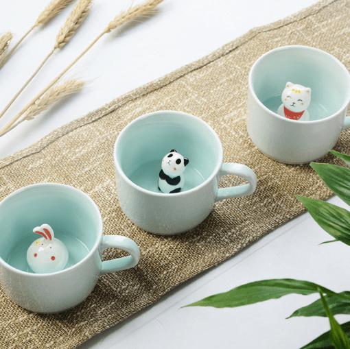 animal mugs - ceramic mugs at pop shop america