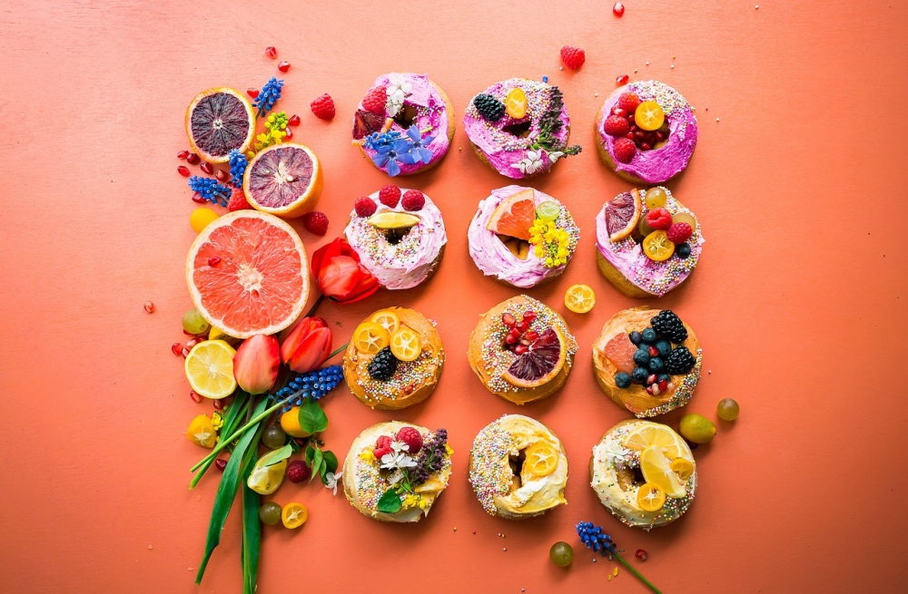 cutest ever fruit topped donuts pop shop america blog
