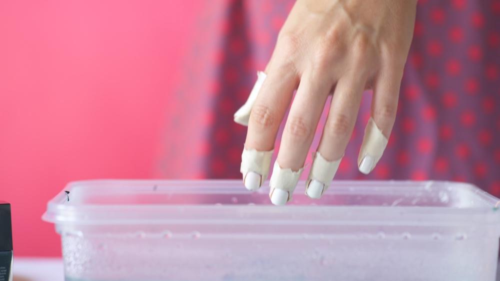 dip the nails nail polish marbling_web
