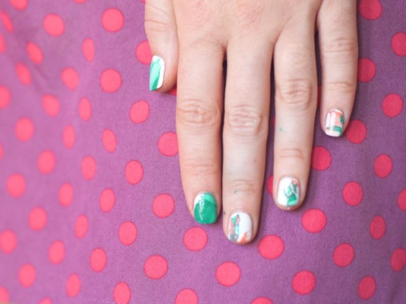 diy marbled nails - nail art_small